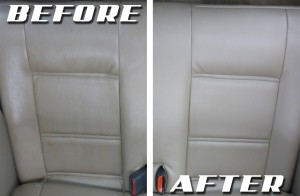 how to clean leather car seats upholstery cleaning hub. Black Bedroom Furniture Sets. Home Design Ideas