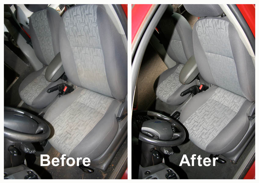 How do you steam clean car seats upholstery cleaning hub for How to clean interior car seats